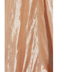 Calvin Klein - Brown Kainen Metallic Lurex-blend Dress - Lyst