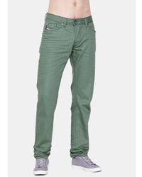 DIESEL   Green Slim Fit Jeans for Men   Lyst