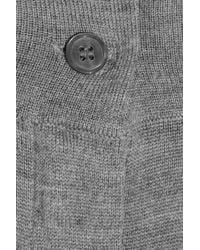 Emma Cook - Gray Merino Wool Pants - Lyst