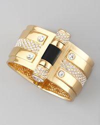 Rachel Zoe | Metallic Pin Clasp Bracelet | Lyst