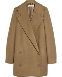 Stella McCartney | Natural Edith Camel Wool Coat | Lyst