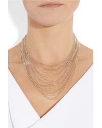 Carolina Bucci - Metallic 18-karat Gold Multi-strand Necklace - Lyst