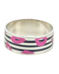 Marc By Marc Jacobs | Purple Lips Print Bangle | Lyst