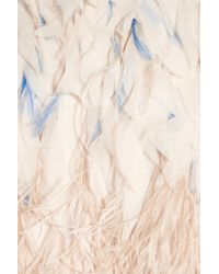 Matthew Williamson | Pink Feathered Tulle Cocktail Dress | Lyst