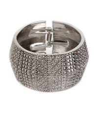 BaubleBar - Metallic Silver Odyssey Cuff - Lyst