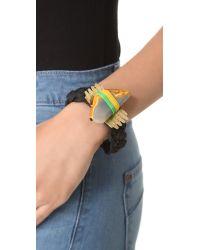 Holst + Lee - Metallic Sushi Roll Bracelet - Lyst