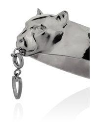 TOPSHOP - Metallic Panther Cuff  - Lyst