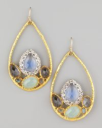 Alexis Bittar - Metallic Siyabona Multistone Teardrop Earrings - Lyst