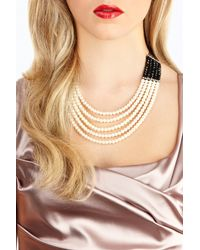 Coast - White Melissa Pearl Necklace - Lyst