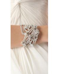Jenny Packham - Metallic Onda Bracelet Ii - Lyst