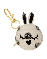 Marc By Marc Jacobs | Natural Katie Snake Effect Coin Pouch | Lyst