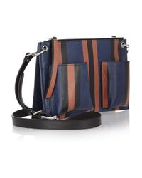 Marni - Blue Bandoleer Shoulder Bag - Lyst