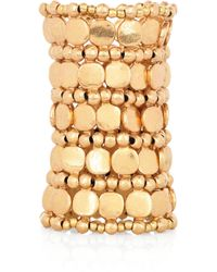 Philippe Audibert - Metallic Zacharie Gold-Plated Cuff - Lyst