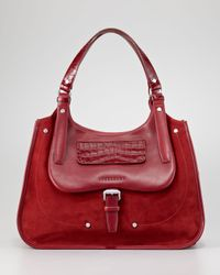 Longchamp | Red Balzane Shoulder Bag  | Lyst