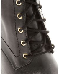 ASOS | Black Asos Appeal Ankle Boots | Lyst