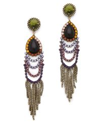 DANNIJO - Multicolor Perrin Earrings - Lyst