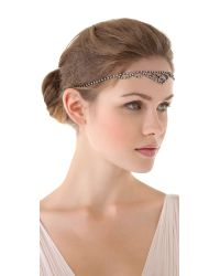 Dauphines of New York - Metallic Jubilee Headband - Lyst