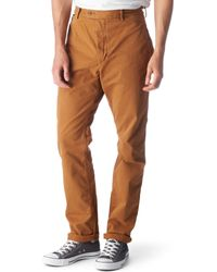 DIESEL | Brown Chibladoc Trousers for Men | Lyst