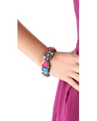 Erickson Beamon - Multicolor Modern Moghul Bracelet - Lyst