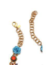 Erickson Beamon   Multicolor Rose Garden Bib Necklace   Lyst