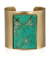 Kelly Wearstler - Metallic Turquoise Cuff - Lyst