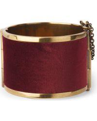 McQ - Purple Brass Cuff - Lyst