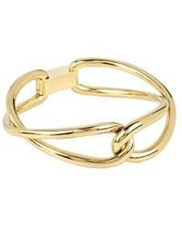 Michael Kors | Metallic Equestrian Luxury Love Twist Bangle | Lyst