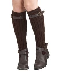 ModCloth - Brown Change For The Sweater Boot in Oak - Lyst