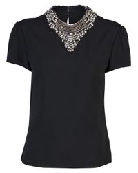 Ralph Lauren - Black Beaded Christianne Shirt - Lyst