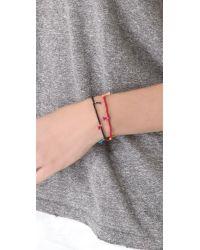 Shashi | Red Lilu Seed Bracelet - Turquoise | Lyst