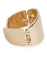 BaubleBar | Metallic Gold Hinge Cuff | Lyst