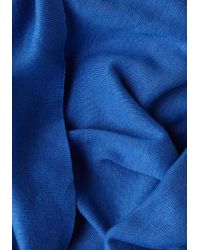 ModCloth Blue Start with The Basics Circle Scarf in Cornflower