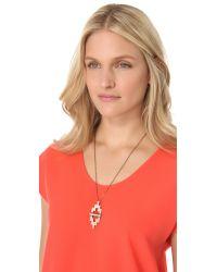 Pamela Love | Metallic Small Reflection Pendant Necklace | Lyst