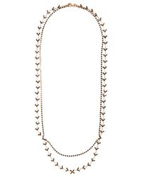 BaubleBar | Metallic Chevron Arrowhead Necklace | Lyst
