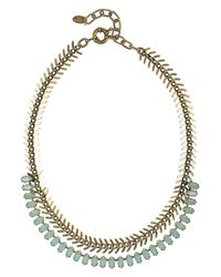 Elizabeth Cole - Metallic 24karat Goldplated Pacific Opal Necklace - Lyst