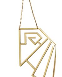 Pamela Love - Metallic Wrought Iron Breastplate Cutout Necklace - Lyst