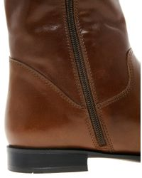 ALDO | Brown Fantlant Knee Boots | Lyst