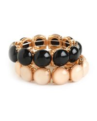 BaubleBar | Brown Cabochon Bangle Set | Lyst