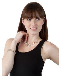 BaubleBar | White Ice Disco Bracelet | Lyst