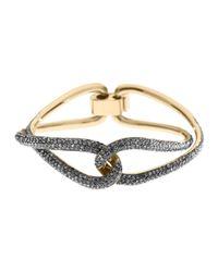 Michael Kors - Metallic Pave Twist Bracelet  - Lyst