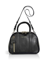 See By Chloé | Black Leather Bowling Bag | Lyst