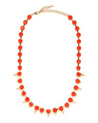 BaubleBar - Red Tang Cone Strand - Lyst
