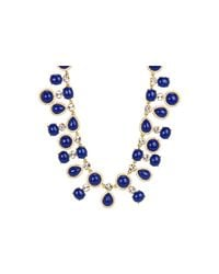 kate spade new york - Blue Moonlit Way Collar Necklace - Lyst