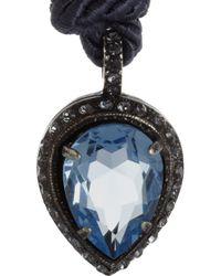 Lanvin | Blue Screw Necklace | Lyst