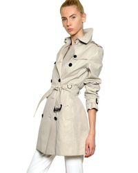 Burberry | Beige Buckingham Cotton Gabardine Trench Coat | Lyst