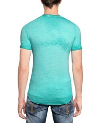 DSquared² - Green My Dsquared Shirt Rocks Jersey T-Shirt for Men - Lyst
