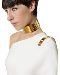 Givenchy | White Stretch Viscose Cady Long Dress | Lyst