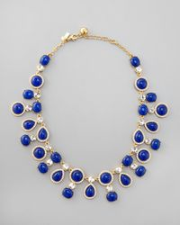 kate spade new york | Blue Moonlit Way Collar Necklace | Lyst