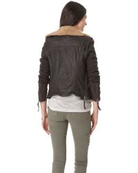 Muubaa - Brown Charme Aviatress Jacket - Lyst