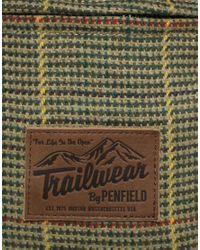 Penfield - Brown Idlewood Tweed Backpack for Men - Lyst